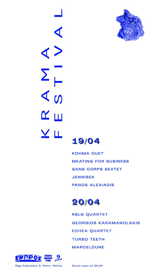 Krama Fest poster